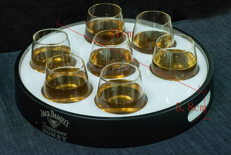 Jack Daniel's Glasses Serving Tray