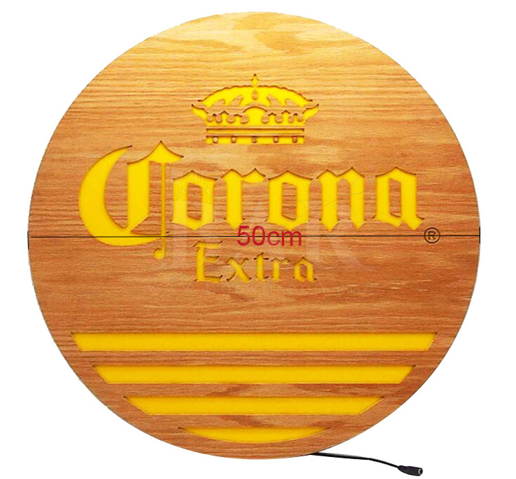 Corona LED Sign Board